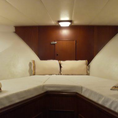 cabina doppia - boat aned breakfast